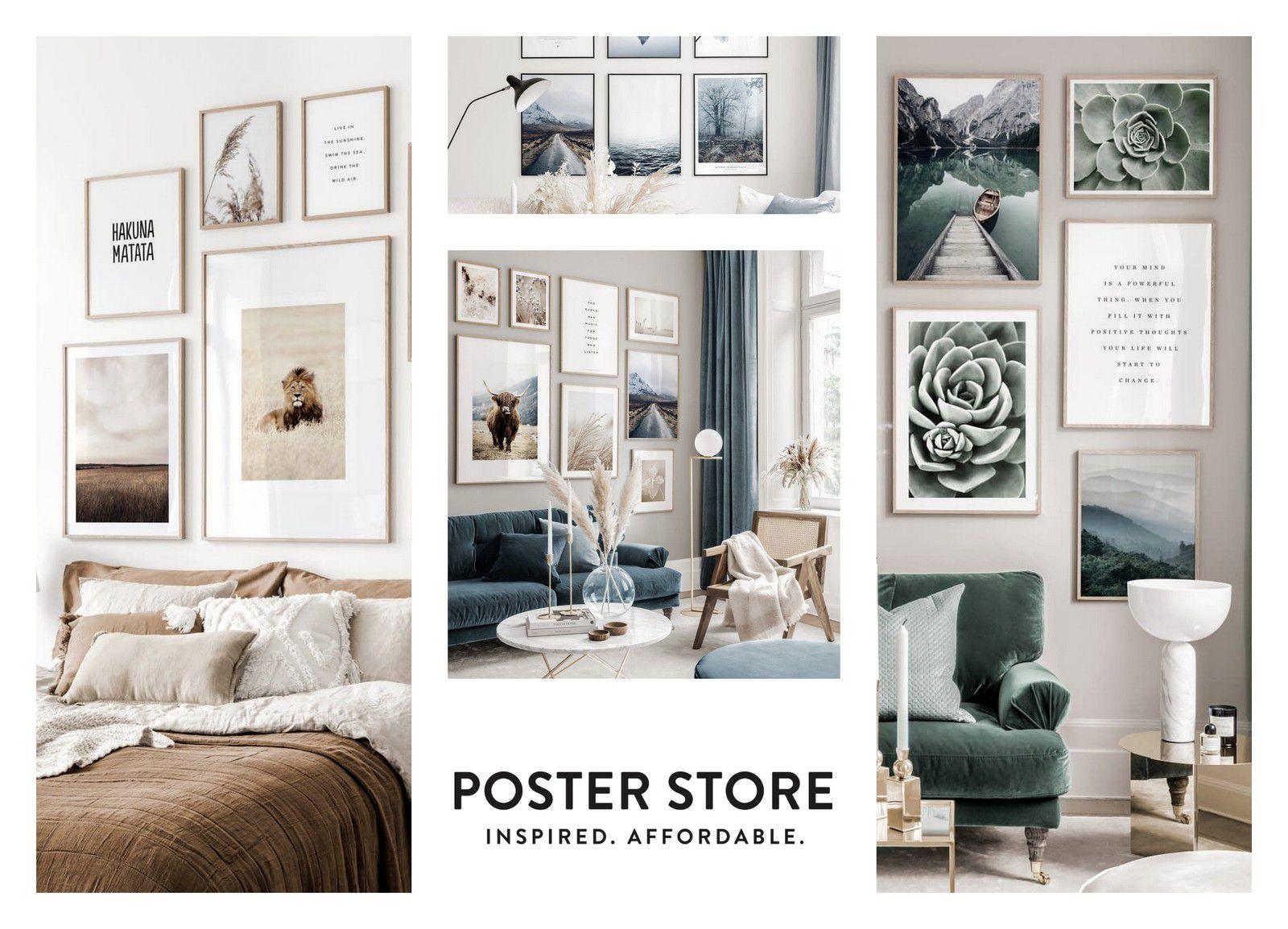 Poster Store : Décore tes murs à prix mini