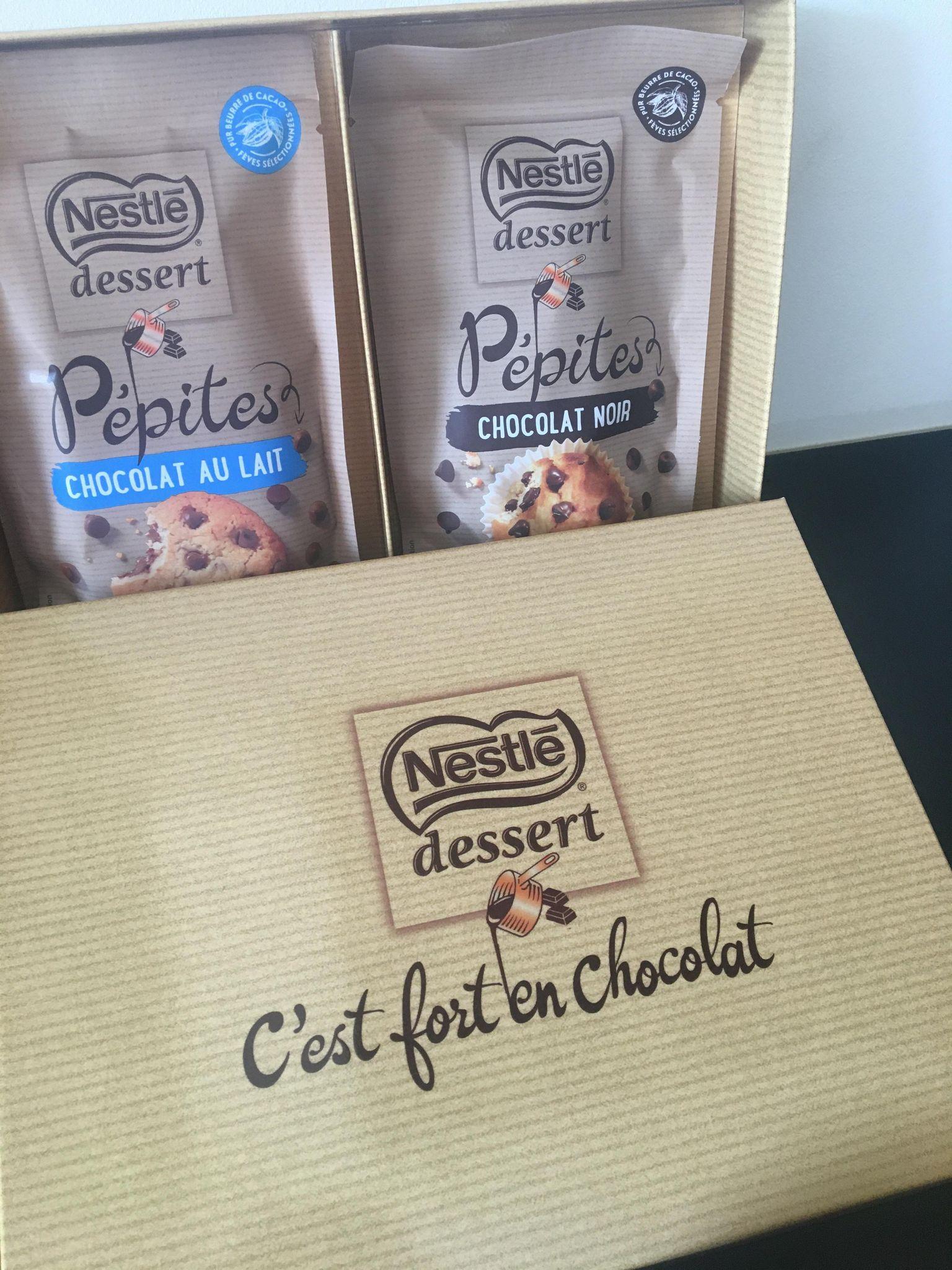 Box Nestlé Dessert – Découvre les Pépites au chocolat