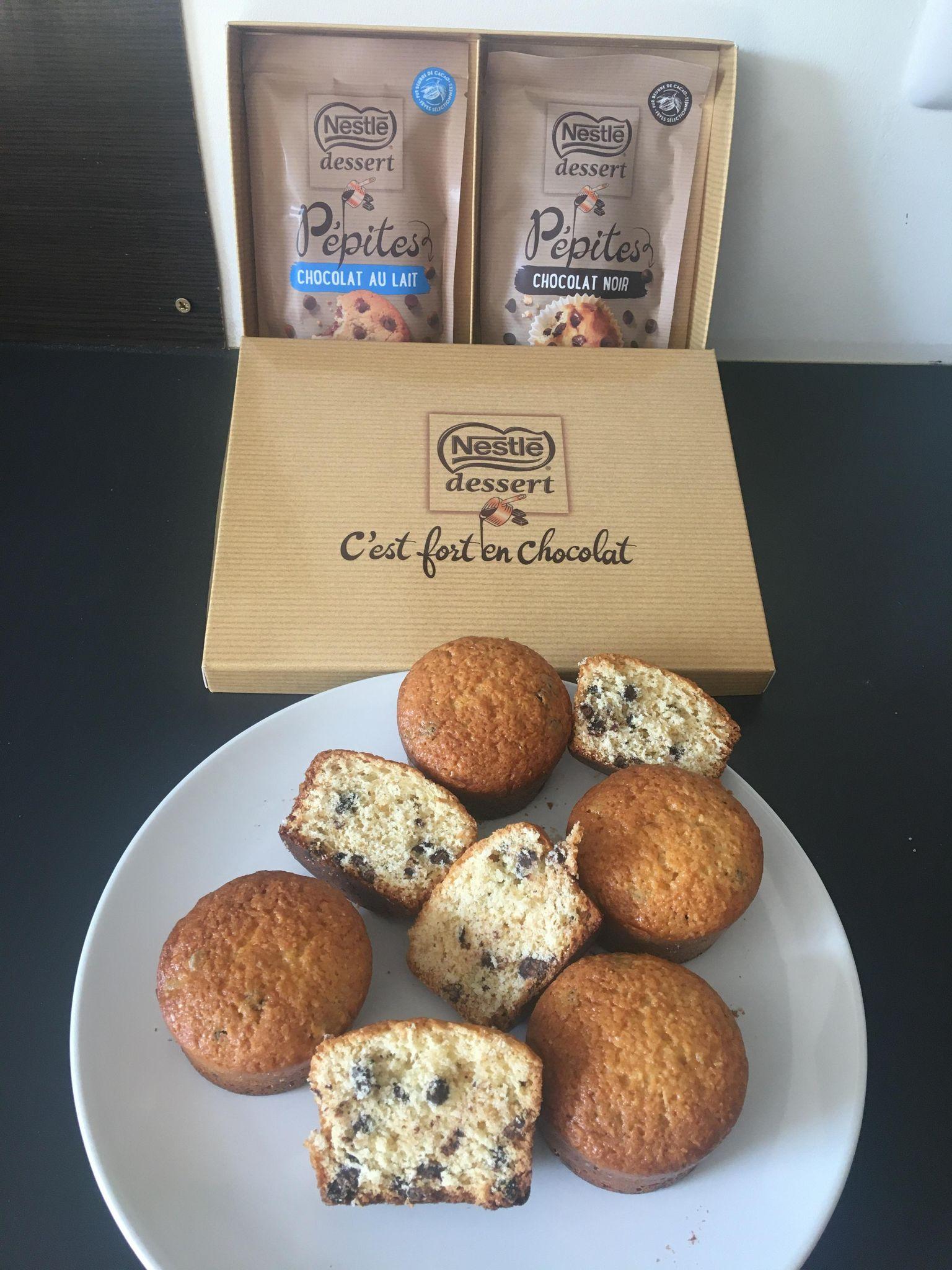 Box Nestlé Dessert - Découvre les Pépites au chocolat