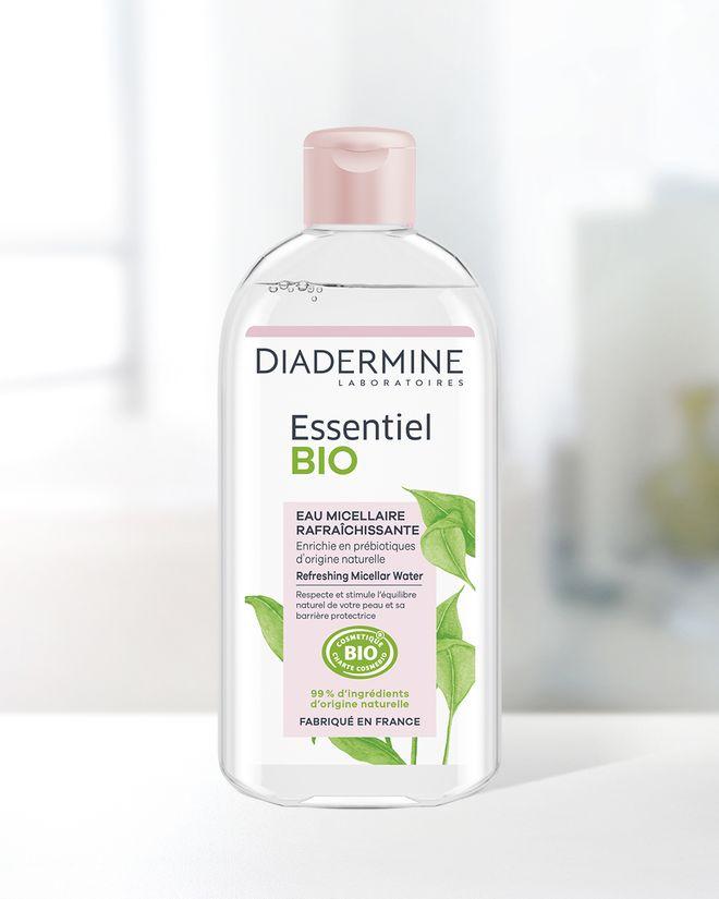 Test de produit : Eau Micellaire Rafraichissante Essentiel BIO Diadermine