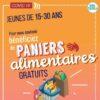 PANIER ALIMENTAIRE GRATUIT : RESERVE AUX 15 – 30 ANS