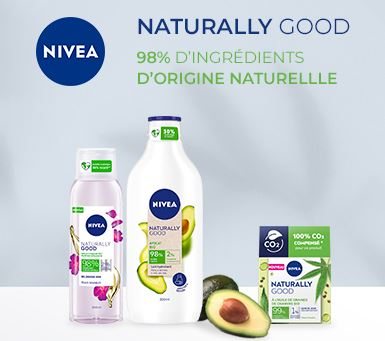 TEST DE PRODUIT GRATUIT : ROUTINE NIVEA NATURALLY GOOD